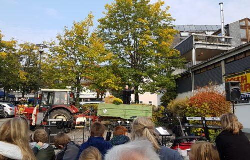 Martin Kölli beim Öko- und Bauernmarkt in Neunkirchen