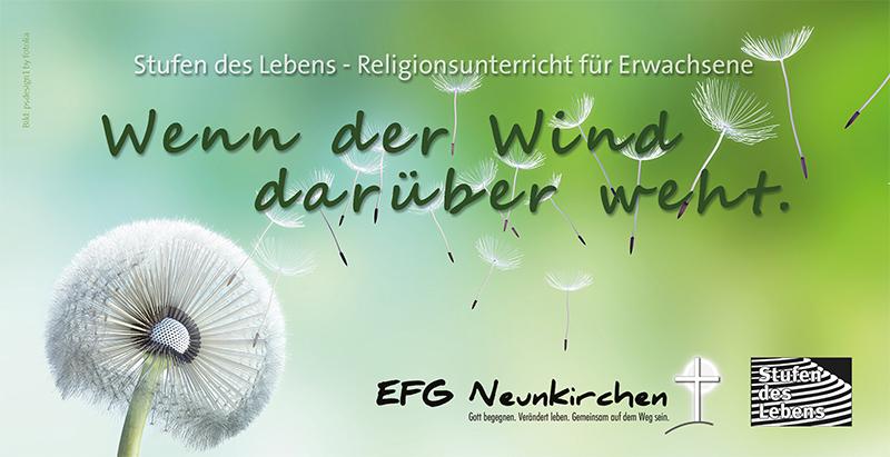 Stufen des Lebens 'Wenn der Wind darüber weht' EFG Neunkirchen