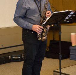 Martin Kölli am Saxophon