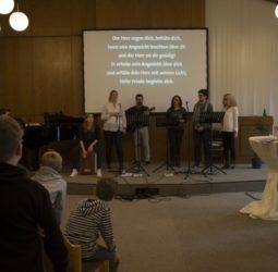 Worship auf der Gemeindefreizeit